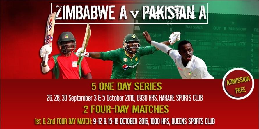 Zimbabwe A v Pakistan A