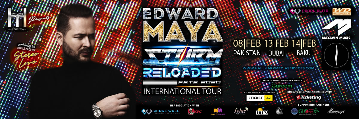 Edward Maya Live in Concert Tickets Hallmark International