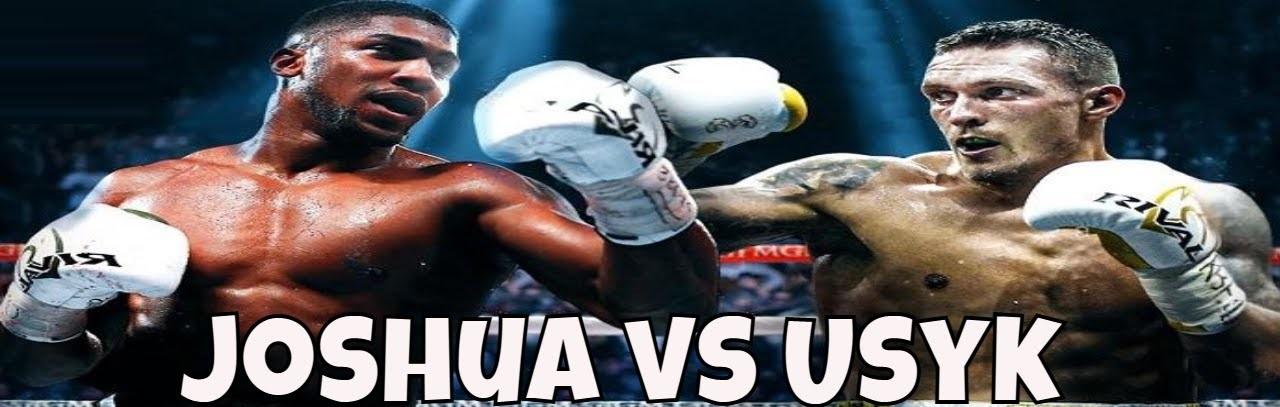 Anthony Joshua vs Oleksandr Usyk Tickets