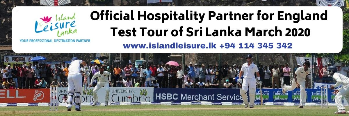 England vs Sri Lanka Tickets Island Leisure Lanka