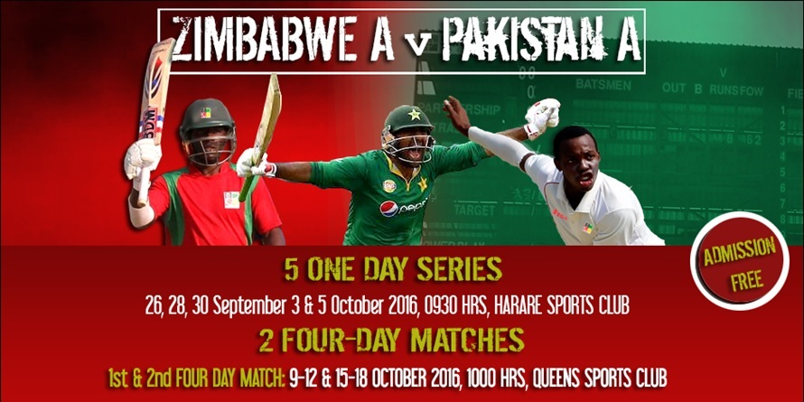 Zimbabwe A V Pakistan A Tickets