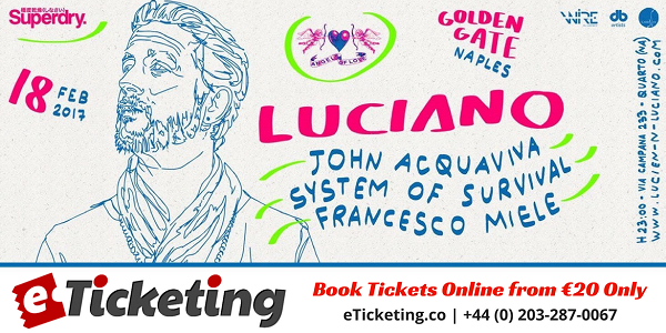 LUCIANO Tickets