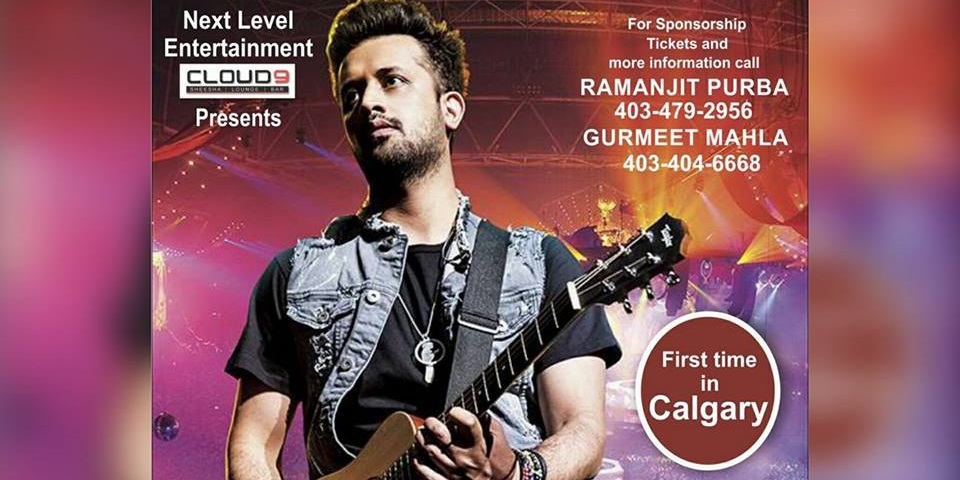 Atif Aslam Tickets