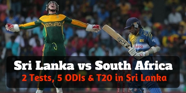 Sri Lanka Vs South Africa Tickets