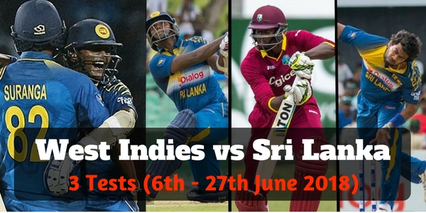 West Indies Vs Sri Lanka Tickets