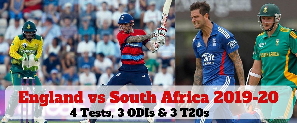 England vs South Africa 2019-20