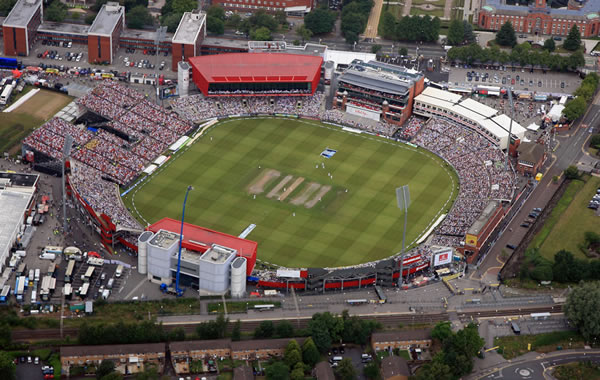 Old Trafford Cricket Ground seating plan