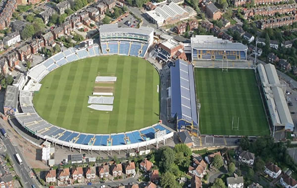 Headingley Cricket Ground seating plan