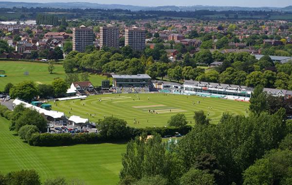 The Riverside Cricket Ground seating plan