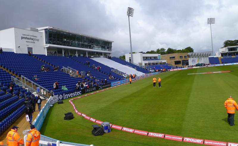 Sophia Gardens Cricket Ground seating plan