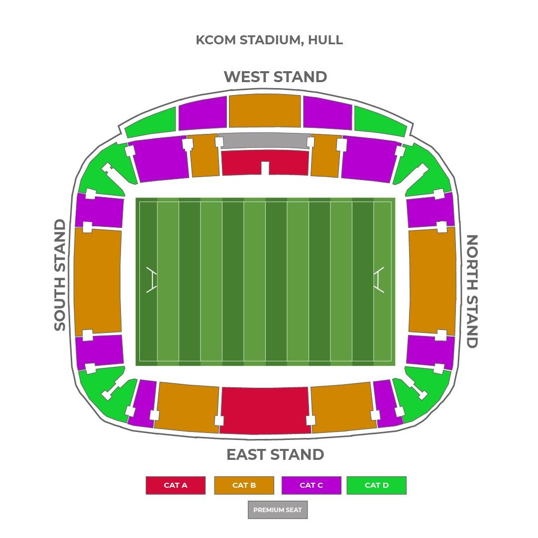 KCOM Stadium seating plan