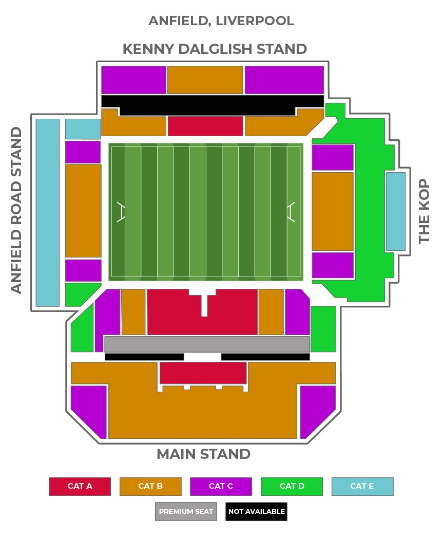 Anfield seating plan