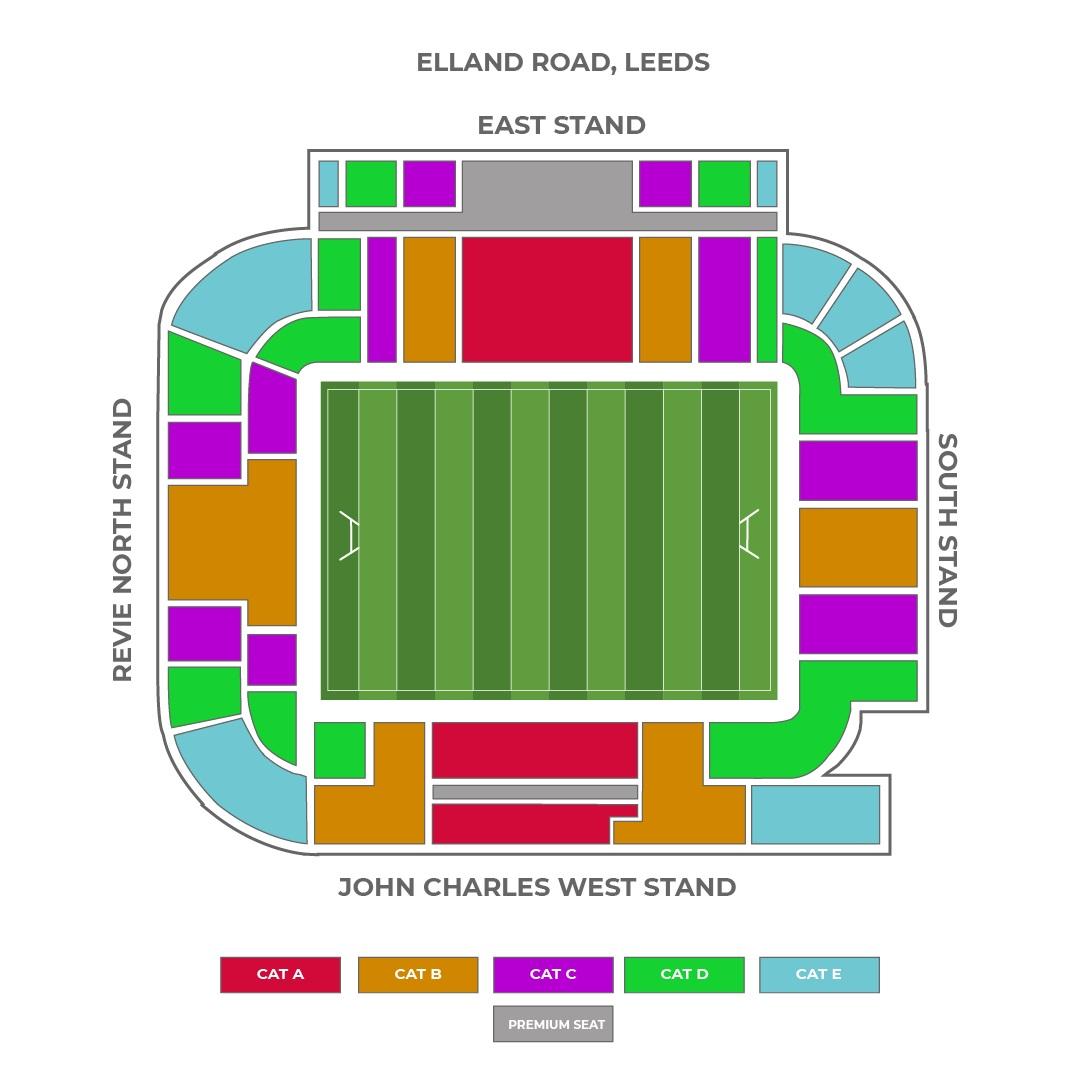 Elland Road seating plan
