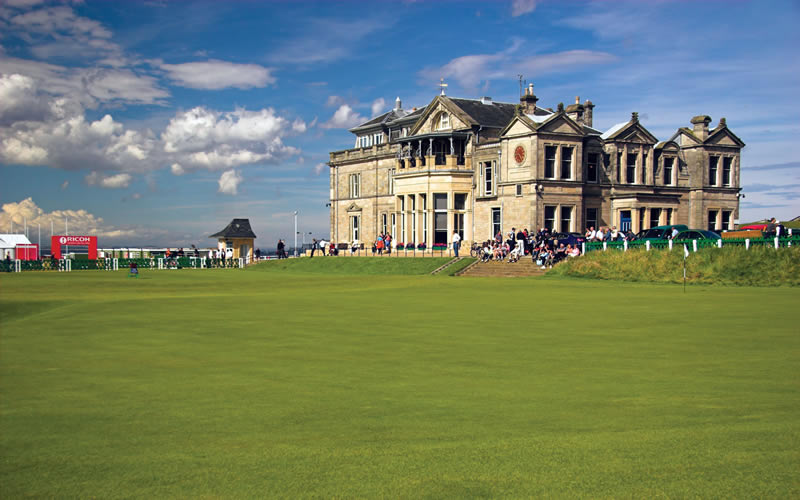 St Andrews Golf Club seating plan